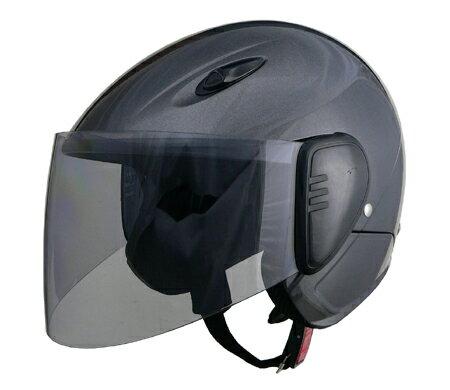 LEAD リード工業 セミジェットヘルメット SERIO RE-35 ガンメタリック