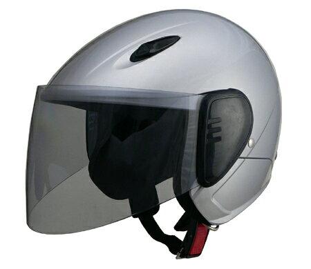 LEAD リード工業 セミジェットヘルメット SERIO RE-35 シルバー