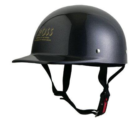 LEAD リード工業 ハーフヘルメット CROSS CR-680 ガンメタリック