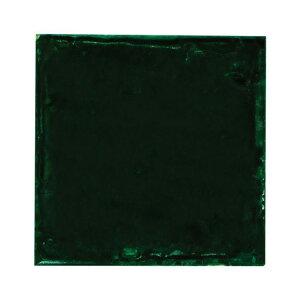 SPICE スパイス SPICE OF LIFE クレイタイル グリーン 10cm角 MKCS010   色むら 凸凹 手作り感 ナチュラルテイスト 陶器 タイル