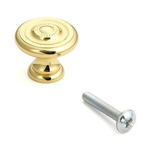 SUGATSUNE スガツネ工業 つまみ 265型 100-016-163 265-25PB | シンプル おしゃれ 黄銅 ポリッシュドブラス 真鍮磨き