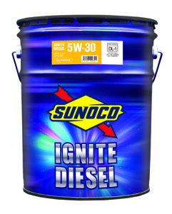 SUNOCO スノコ ディーゼルエンジンオイル IGNITE DIESEL イグナイト ディーゼル 5W-30 DL-1 20L缶   5W30 DL1 20L 20リットル ペール缶 オイル 交換 人気 オイル缶 油 エンジン油 車検 車 オイル交換 ポイン