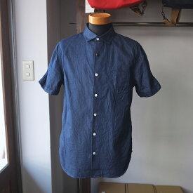 【定価14,080円】Re made in tokyo japan アールイー Split Raglan Classical Shirt スプリットラグランクラシカルシャツ indigo