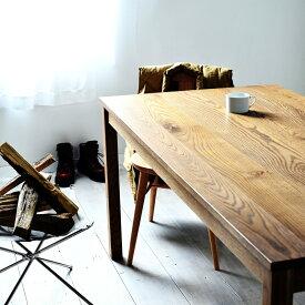 アメリカンオークテーブル ダイニングテーブル オーク 送料無料 アンティークテイスト カリフォルニアスタイル サイズオーダー 天然木 木製 北欧 無垢材 長机 カフェテーブル 食卓テーブル ダイニング 120 130 140 150 160 170 180 おしゃれ 国産 日本製 大川家具