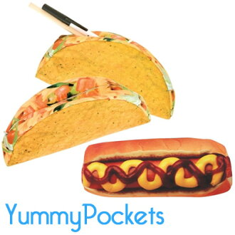 Funny Taco hot dog sushi pizza porch imported goods! accessories watches and toys rather than gadgets Cynthia
