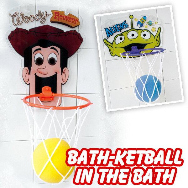 Bath-ketball バスケットボールインザバス トイストーリー ウッディ エイリアン お風呂 スポンジ 置き場所 収納 おすすめ おしゃれ バスグッズ おもちゃ 腕時計とおもしろ雑貨のシンシア プレゼント 【あす楽対応可】