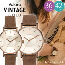 【正規販売店 2年保証】 klasse14 クラスフォーティーン 腕時計 クラス14 レディース メンズ volare Vintage Gold Bro…