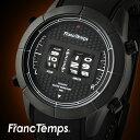 腕時計 メンズ腕時計 Franc Temps COCKPIT フランテンプス コクピット ドラムウォッチ 回転式 ブランド コックピット ラバーベルト natoベルト ギフト プレゼント 【送料無料】 【あす楽対応可】