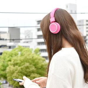 カラフルオーバーヘッドフォンColorfulOverHeadphonesマイク付きボタンリモコン立体的サウンドプレゼント贈り物おもしろ雑貨【あす楽対応可】