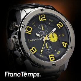 【レビュー7,000件以上】 メンズ腕時計 FrancTemps Gavarnie stainless フランテンプス ガヴァルニ ステンレス 防水 ブランド クロノグラフ おしゃれ 人気 ランキング レディース プレゼント ギフト 【送料無料】