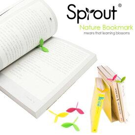 Sprout bookmark (スプラウトブックマーク) シリコン製の芽のしおり 輸入雑貨 【メール便OK】 腕時計とおもしろ雑貨のシンシア プレゼント 【あす楽対応可】