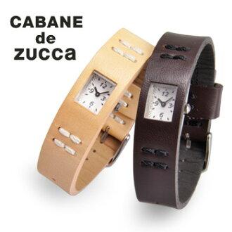 CABANE de ZUCCa kabandzucca 手表口香糖低压咀嚼皮革版 AWGK019 ZUCCA 结块 zucca 手表赠品