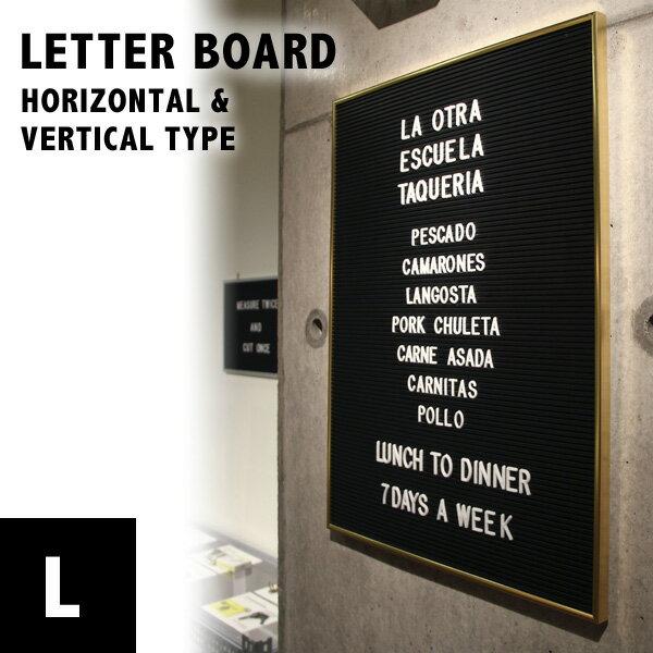 Letter Board (L)レターボード Lサイズ ネームプレートアメリカン インテリア 腕時計とおもしろ雑貨のシンシア プレゼント 【あす楽対応可】