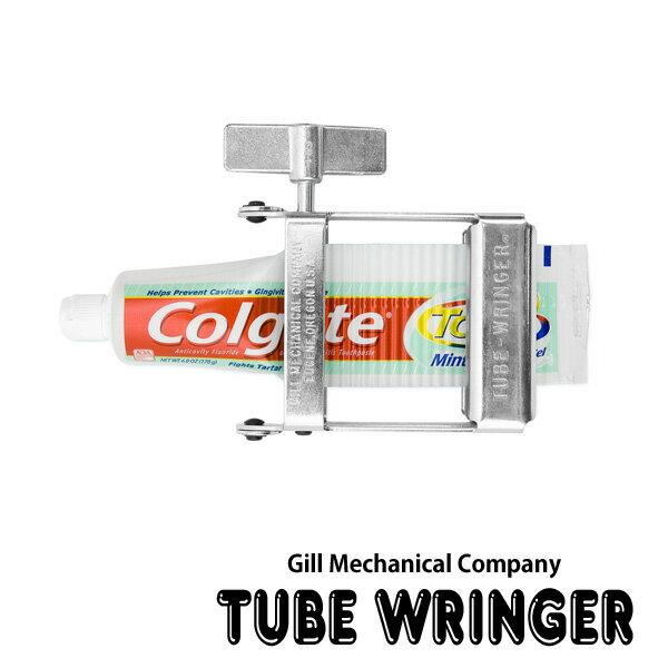 【Gill Mechanical Companyギルメカニカルカンパニー】Tube Wringerチューブリンガー チューブ絞り機 おもしろ雑貨のシンシア ギフト 【あす楽対応可】
