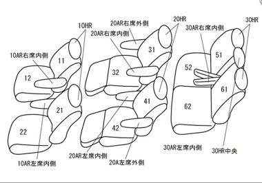 【クラッツィオ/アルファード/ヴェルファイア/30系(AGH30W/AGH35W)/シートカバークラッツィオネオ★品番:ET-1517/Clazzio★】
