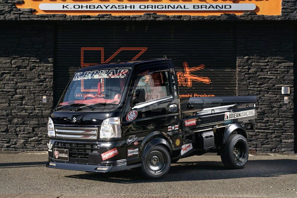 K-BREAK ケイブレイク キャリィ キャリー トラック DA16T オーバーフェンダー フロント単品 ケイブレイク レーシング K-BREAK racing