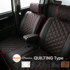 ムーヴカスタム シートカバー LA100S LA110S 一台分 クラッツィオ 品番ED-0694 キルティングタイプ