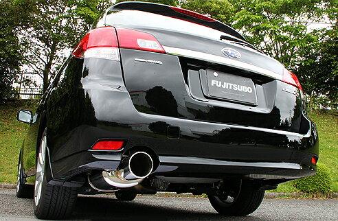フジツボ レガシィツーリングワゴン DBA-BR9 マフラー AUTHORIZE S(オーソライズS) FUJITSUBO 350-64096