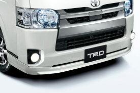 TRD レジアスエース 200系 KDH200 211 220/GDH200 211 220/TRH200 210 220 フロントスポイラー 塗装済 MS341-26001 配送先条件有り