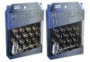 協永産業 T1/07 M14×P1.5 20個入り 貫通ナット Glorious Black グロリアスブラック MN04GK KYO-EI Kics MONOLITH キ…