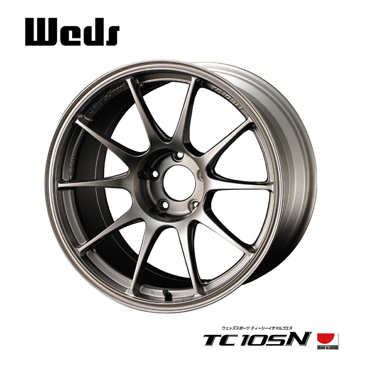 ウエッズスポーツ WedsSport TC105N ホイール 1本 15 インチ 4H100 6.5J+43 ウェッズ WEDS