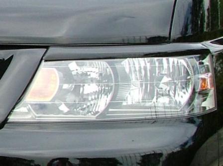 AMS/LUXEYES ラグゼアイ アイラインガーニッシュ 塗装済 ステップワゴン RF3/4/5/6/7/8
