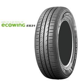 14インチ 155/65R14 75T 低燃費タイヤ クムホ エコウイング ES31 4本 1台分セット KUMHO ECOWINNG ES31