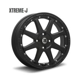 XTREME-J ホイール 1 本 12インチ 4.00B+42 4H100 4穴 フラットブラック MLJ エクストリームジェイ