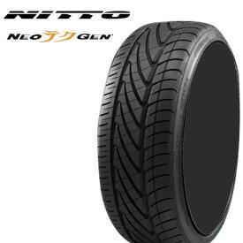 20インチ 225/30ZR20 85W 2本 ネオジェン ネオゲン ネオテクゲン サマータイヤ XL ニットー NITTO NEOGEN 個人宅追加金有