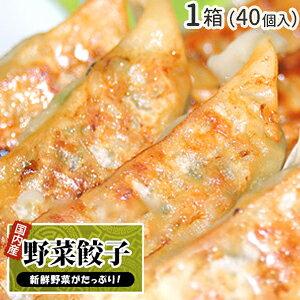 野菜餃子 40個入 1袋 / ぎょうざ ギョウザ ギョーザ お取り寄せ グルメ ご当地 お取り寄せ 冷凍餃子 国産 国産野菜 国産豚肉