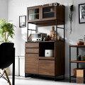 食器棚キッチンボードレンジ台カップボードおしゃれ北欧キッチン収納キッチンキャビネットレンジボードスチールラックラックチェストスリム大型レンジ対応キッチン収納棚キッチンラックリビング収納幅90cm90cm一人暮らしシンプル