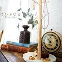 ネックレス ピアスをかわいく飾る アクセサリーハンガー トスカ アクセサリースタンド アクセサリーツリー アクセサリ…