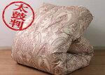 京都西川極上ローズ羽毛布団シングルポーランド産ホワイトグース90%ツインキルト