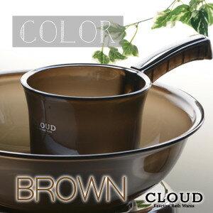 手桶/EX-CLD-B(ブラウン)カラー