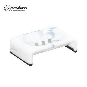 エスペランス Esperance「セッケンホルダー EP-EX」 石鹸置き ソープディッシュ 石けん箱 マーブル バスグッズ シンカテック