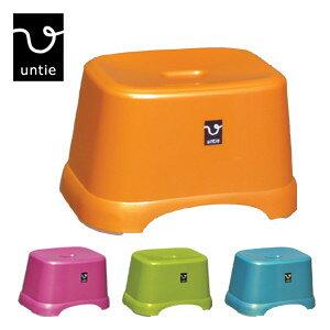 untie アンティ「風呂椅子 角CL-UN3」座面の高さ約21cm 風呂いす 風呂椅子 バスグッズ シンカテック