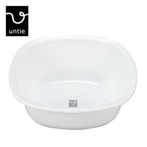 untie pro アンティプロ「湯桶 角-UPR」風呂おけ 洗面器 桶 湯おけ バスボウル ウォッシュボウル バスグッズ シンカテック