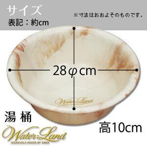 湯桶ウォーターランドサイズ