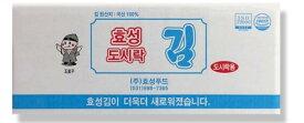 ★ヒョソンお弁当海苔 3袋(■BOX 24入) <韓国のり・韓国海苔>ヒョソンお弁当海苔★送料無料★