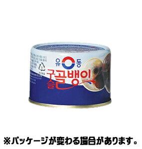 『ユドン』つぶ貝 140g <韓国食品・韓国食材>