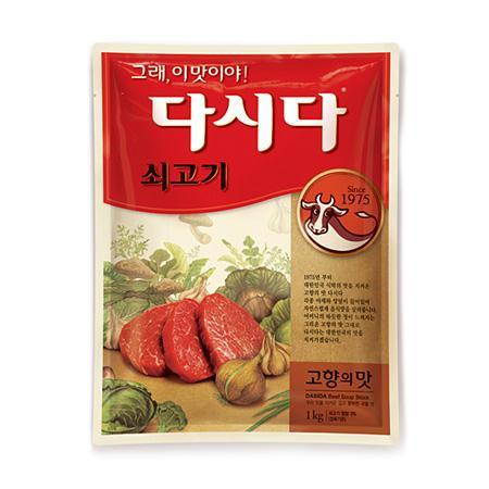 『白雪』牛ダシダ 1kg <韓国調味料・韓国ダシ>