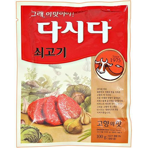 『白雪』牛ダシダ100g <韓国調味料・韓国ダシ>