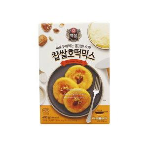 『白雪』もち米ホットクミックス 400g <韓国伝統餅・韓国饅頭>