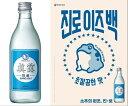 『眞露(ジンロ)』ジンロイズパック it`s back360ml韓国版×20本セット<韓国焼酎>
