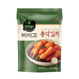 【冷蔵】 bibigo チョンガーキムチ500g<韓国キムチ・本場キムチ>