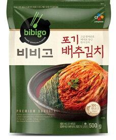 【冷蔵】 bibigo 白菜キムチ500g<韓国キムチ・本場キムチ>