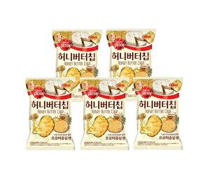 【送料無料】【ヘテ】★新食品★ ハニーバターチップ フロマージュブラン 60g×5袋セット 韓国ポテトチップス 韓国 Honey Butter Chip