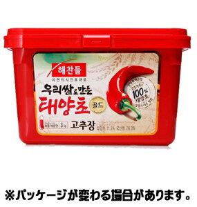 『ヘチャンドル』コチュジャン 3kg <韓国調味料・韓国味噌・韓国みそ>