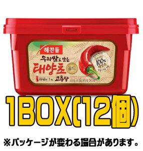 『ヘチャンドル』コチュジャン 1kg(■BOX 12入) <韓国調味料・韓国味噌・韓国みそ>