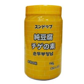 『ミドリ』純豆腐(スンドゥブ)チゲたれ 1kg(50人前) <韓国スープ・韓国調味料>
